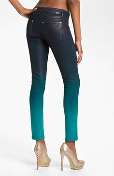Can we agree that I need to have these??? DL1961 'Emma' Waxed Skinny Jeans (Bali) | Nordstrom