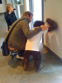 monkey vomit