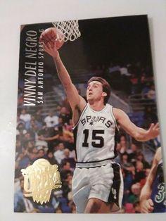 45d97fc31 1994 95 Ultra  330 Vinny Del Negro  San Antonio Spurs  SanAntonioSpurs