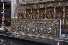 Zaragoza, Spain - Basilica of Our Lady of the Pillar High Altar & Altarpiece of La Asunción 4
