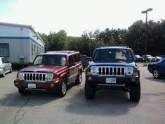 Image result for lifted jeep commander