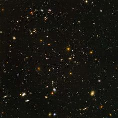 Way out there. The deepest view of deep space.