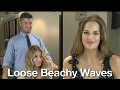 How to Get Sexy Beach Waves with a Flat Iron,totally works!!!