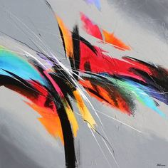 Rhythm in colors, Pierre Bellemare Acrylic Painting Canvas, Canvas Art, Painting Art, Pierre Bellemare, Abstract Expressionism, Abstract Art, Abstract Paintings, Art Inspiration Drawing, Collage