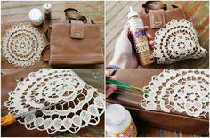 Doily Purse DIY 4
