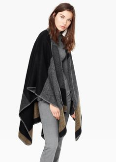 Színes blokkos kabát