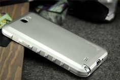 Aluminum metal bumper Frame protective case cover for SAMSUNG GALAXY NOTE2 NOTE II N7100