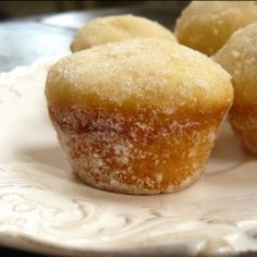 Donut Muffins taste exactly like donuts! I hope this is true
