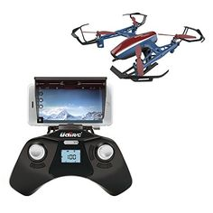 Wifi FPV Drone w Altitude Hold Wide Angle HD Camera and Live Video Remote Control For Aerial Photography Easy to Fly for Expert Pilots Beginners Bonus Battery Great Gift Idea *** You can find more details by visiting the image link. Drone With Hd Camera, Mini Camera, Drone Quadcopter, Drones, Buy Drone, Remote Control Drone, Aerial Photography, Digital Photography, Photography Tips