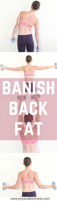 8 Moves to Banish Back Fat