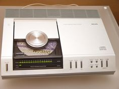 Philips CD100 The First One! Rock solid all metal construction.