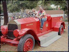 Toy Firetruck in Los Gatos, California