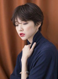 ナチュラルにシルエットが綺麗なショート 【BRIDGE】 http://beautynavi.woman.excite.co.jp/salon/21483?pint ≪ #shorthair #shortstyle #shorthairstyle #hairstyle・ショート・ヘアスタイル・髪形・髪型≫