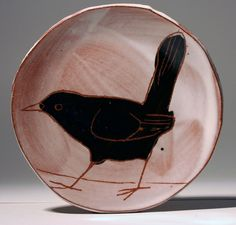 A plate a day: Black bird Ceramic Tableware, Glass Ceramic, Ceramic Clay, Pottery Painting, Ceramic Painting, Ceramic Artists, Pottery Plates, Ceramic Pottery, Pottery Art