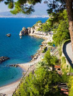 Lido Capo di Conca Amalfi Coast, Italy © Randy(rbrophy) #places #travel #takemetherenow