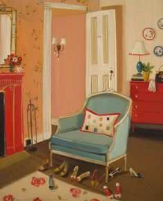 Janet Hill — The Barbizon Hotel 1953,2012 (1024х830)