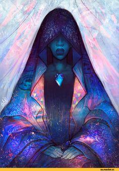 Steven universe,фэндомы,SU art,Blue Diamond,SU Персонажи