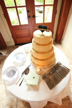 Stunning Wedding Cake. #weddingcake