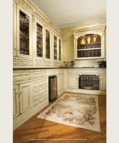 Grand European Elegance Butler's Pantry Habersham Home