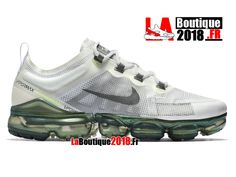 71e79729836 Nike Air Vapormax 2019 PRM Beige Grey AT6810-100 Chaussure Nike Boutique Pirx  Pour