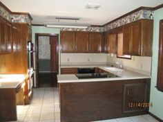 kitchen cabinet refacing using wall paper , kitchen cabinets, kitchen design, wall decor