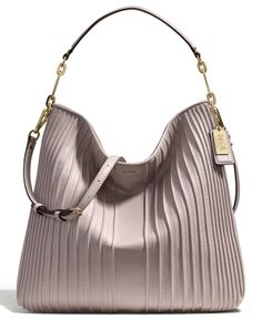COACH MADISON HOBO IN PINTUCK LEATHER Coach Outlet, Pin Tucks, Coach  Purses, Coach 724d97fe50