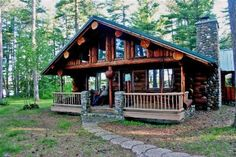 Superior Log Hideaway - Secluded Log Cabin On Pristine Northern Minnesota Lake. Superior Log Hideaway is just a little east of heaven on a small quiet lake . Family Vacation Packages, Cheap Family Vacations, All Inclusive Vacation Packages, Vacation Trips, Vacation Ideas, Vacation Rentals, Getaway Cabins, Lake Cabins, Cabin Rentals