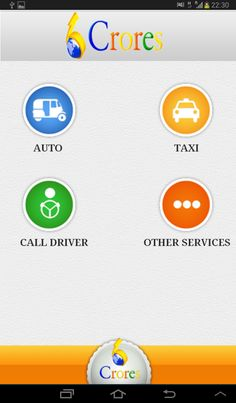 Call Taxi Android App