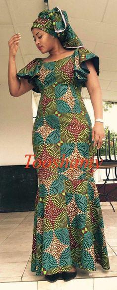 awesome ~DKK ~ Latest African fashion, Ankara, kitenge, African women dresses, African p. African Fashion Ankara, African Fashion Designers, Ghanaian Fashion, Latest African Fashion Dresses, African Dresses For Women, African Print Dresses, African Attire, African Wear, African Women
