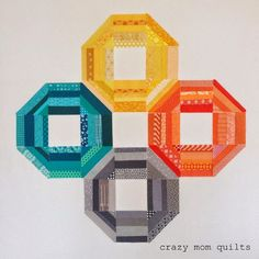 """variation on the """"Busy Blocks"""" quilt"""