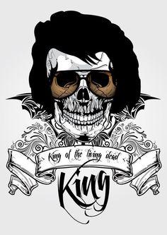 Elvis Presley King of Rock n Roll Art (7) | Redesign Report