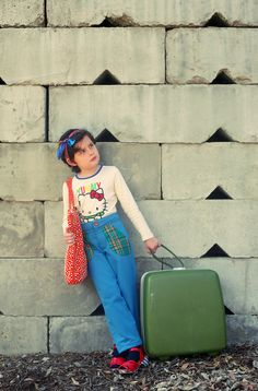 Back to School Misha Lulu for Hello Kitty. Picture by Jessie Kenney, Styling by Heather Rome,