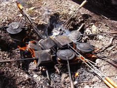 Jaffles and Jaffle Irons African Words, Camping Essentials, Camping Ideas, Specialty Foods, Metal Projects, Old Art, Bbq Grill, The Great Outdoors, South Africa