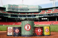 colors and decorating ideas using the Fenway Park color pallet.  Ideas please!