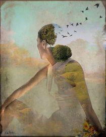 INFJ:  She can be involved in the world of people as well as quiet, imanginative and in her own world.  Summer Dreaming, Catrin Welz-Stein