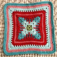 "Ravelry: Cat's Claw Afghan 12"" or 10"" block, free crochet pattern by Margaret MacInnis"