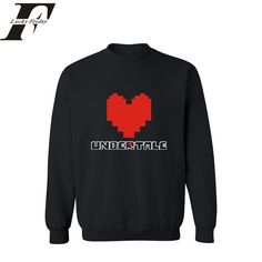 2017 The Newest Red Heart Black/Gray Mens Hoodies and Sweatshirts 3xl and Cotton Hoodies Men/women Hip Hop in streetwear Style #Affiliate