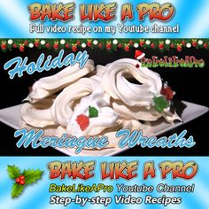 With always over a month ago is in full Christmas season mode at the moment. It's never too early with thinking of new recipes to try this Christmas holiday season ! Baking Recipes, Holiday Recipes, Great Recipes, Cookie Recipes, Holiday Baking, Christmas Baking, Christmas Holidays, Xmas, Meringue Cookie Recipe