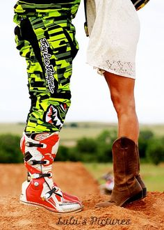 Love my pictures by @Lacey McKay Chance motocross love! Motocross engagement