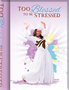 J-128 Too Blessed To Be Stressed Journal, by African American Expressions