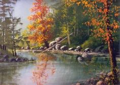 ... acrylic art instructional dvd hosted by Master Artist Jerry Yarnell