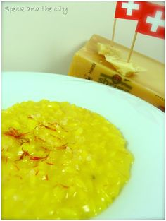 Risotto giallo allo Sbrinz dal blog Speck and the city