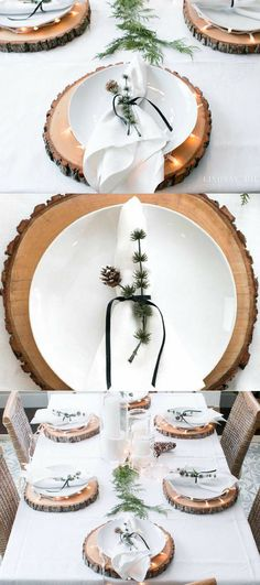 Thanksgiving table decor! Wood chargers, plate chargers, Thanksgiving plate chargers, Thanksgiving decorations! afflink