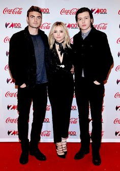 Chloe Moretz, Nick Robinson & Alex Roe attend Z100's Jingle Ball 2015 at Madison Square Garden in New York City [December 11th, 2015]