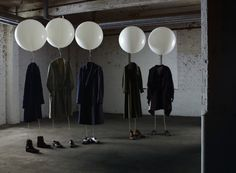 One way to hang your clothes. Until you see what happens next.  (photographer: Jacob Sutton)