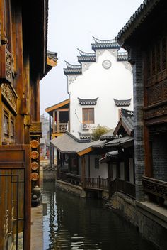 Image source: Scene at Tai Er Zhuang Zhaozhuang, Shandong, China China Architecture, Ancient Architecture, World Beautiful City, Beautiful Places, Chinese Buildings, Gaia, Chinese Landscape, Indochine, China Travel