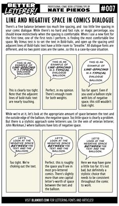 Better Drawing Better Letterer Line and Negative Spacing Comic Book Font, Comic Book Layout, Comic Books, Comic Tutorial, Book Letters, Bd Comics, Comic Drawing, How To Make Comics, Comic Page