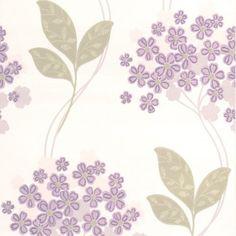 Graham & Brown Festival Wallpaper Lavender