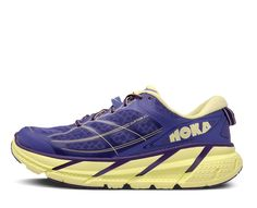 Hoka Womens W Clifton 2 Corsican Blue / Sunny Lime 5 >>> Learn more by visiting the image link. (This is an affiliate link) Hoka One One Woman, Shoe Wall, Triathlon, The One, Sunnies, Running Shoes, Athletic Shoes, Lime, My Style