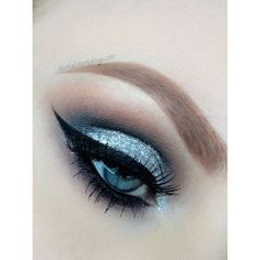 Light Blue Eyeshadow Makeup ❤ liked on Polyvore featuring beauty products, makeup, eye makeup, eyeshadow, mineral make up, mineral powder makeup and mineral makeup